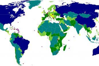 10 самых больших стран мира по площади