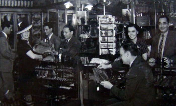 1940-е годы, универмаг в Гаване