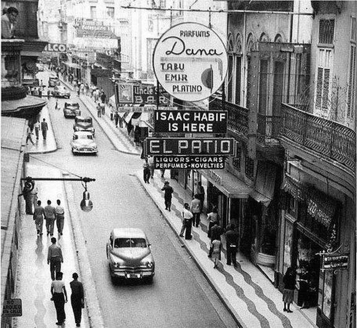 1950е, улица San Rafael, Гавана