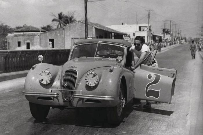 1955 год, Куба, автогонка Havana-Guinea-Cienfuegos