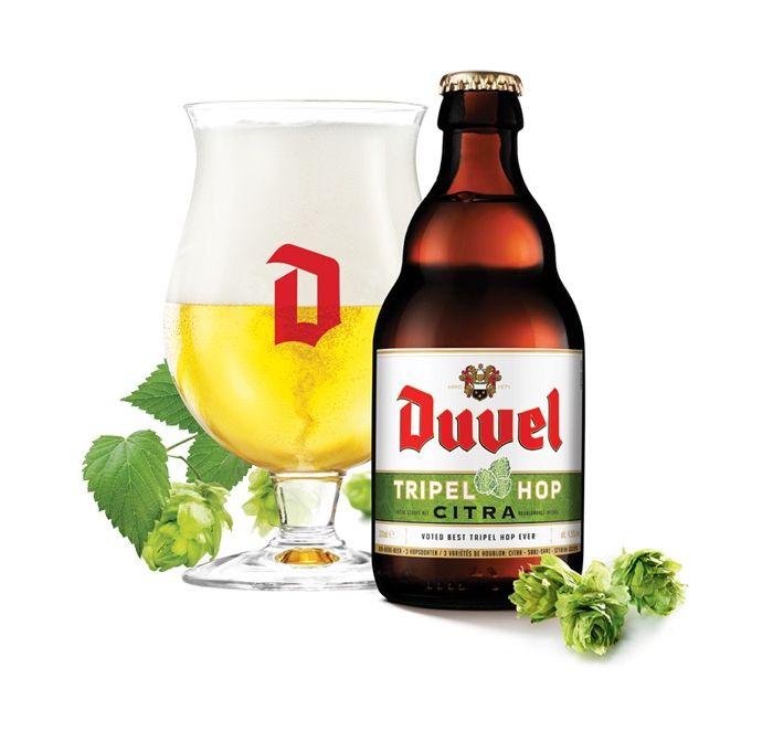 Бельгийское пиво Duvel Tripel Hop Citra, 9.5%