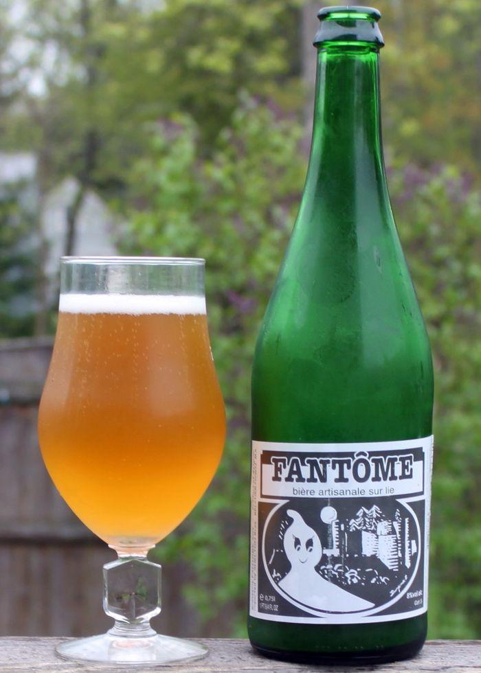 Бельгийское пиво Fantôme Saison, 8%