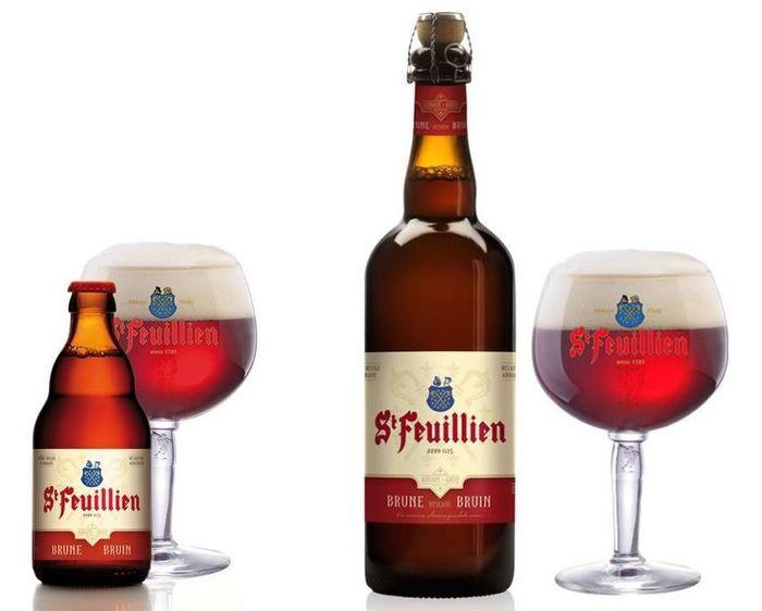 Бельгийское пиво St Feuillien Brune, 8,5%