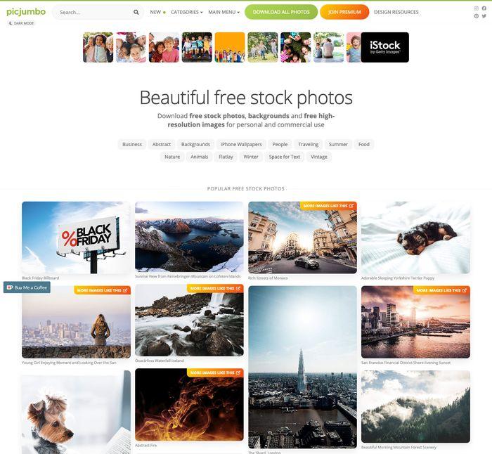 PicJumbo.com - 2,5 млн бесплатных изображений