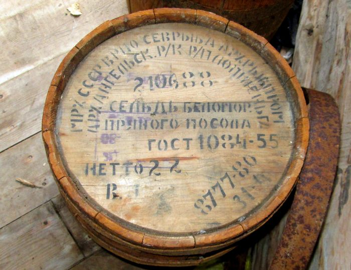 Бочка селедки пряного посола по ГОСТ 1084-88