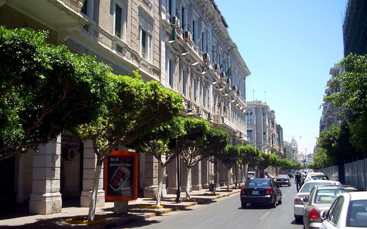 Довоенные улицы Ливии