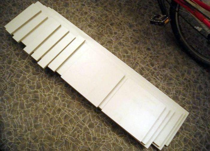 Заготовки из ДСП для корпуса колонок