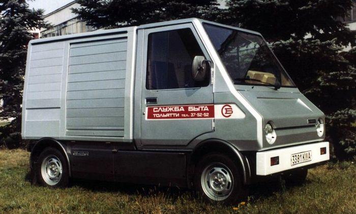 Советский электромобиль ВАЗ 2702-02