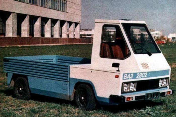 Электромобиль ВАЗ 2802-01, СССР, 1979