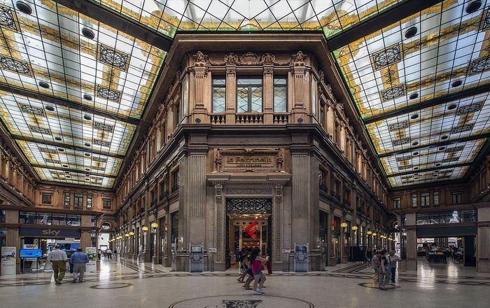Римский торговый центр Galleria Alberto Sordi