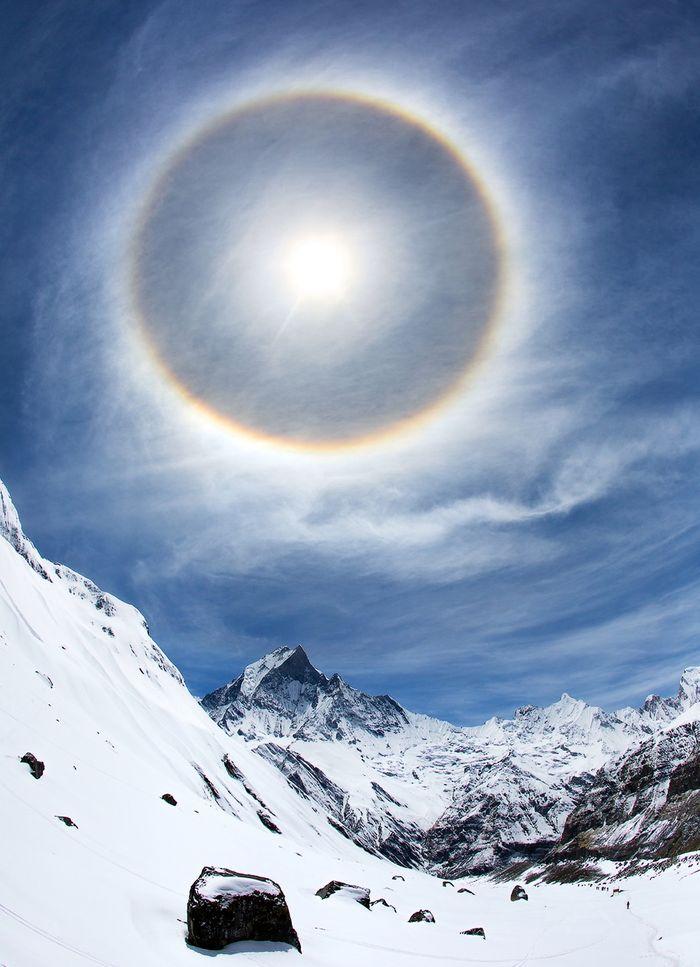 Гало вокруг солнца - уникальное атмосферное природное явление