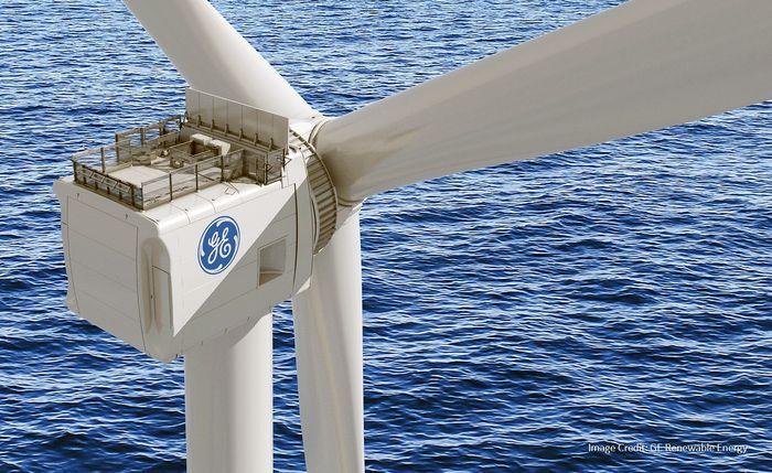 Самый большой ветряк в мире Haliade-X 12 MW