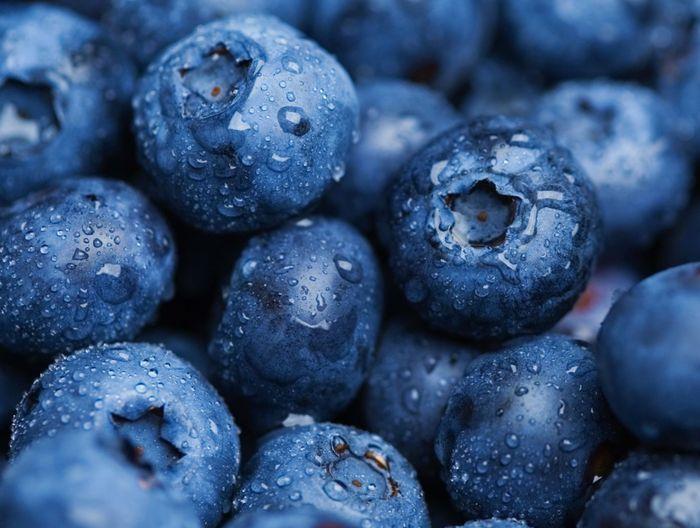 Как сделать синий пищевой краситель