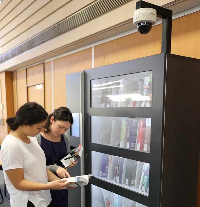 Защита торговых автоматов размещением камер видеонаблюдения