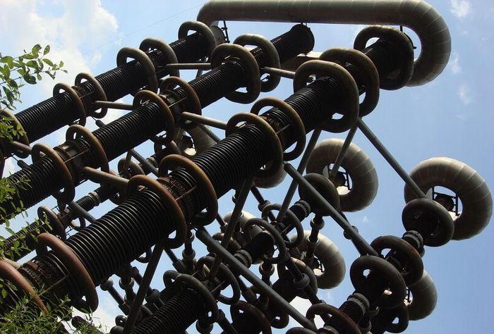 Старое оборудование истринских катушек Теслы