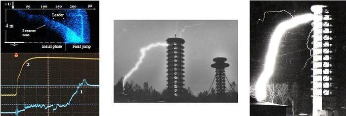 Всероссийский электротехнический институт проводит эксперименты с молниями на катушках Теслы