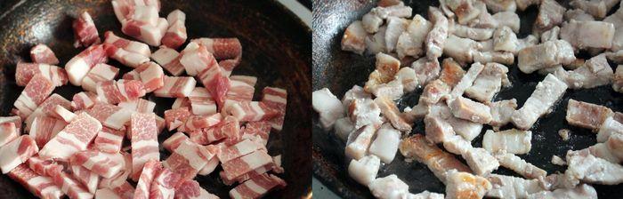 Обжариваем мясо на среднем огне