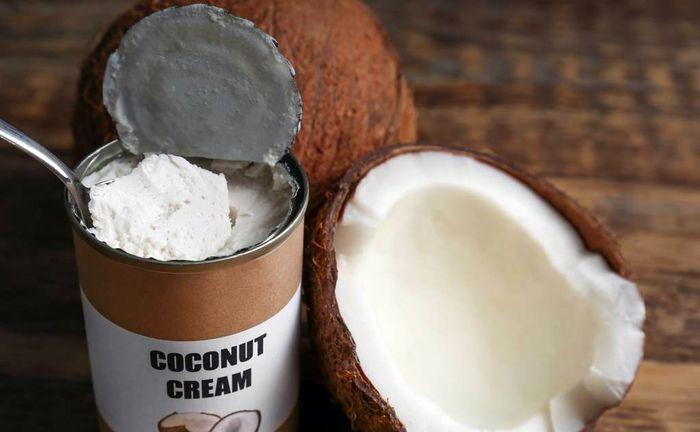 Консервированный кокосовый крем