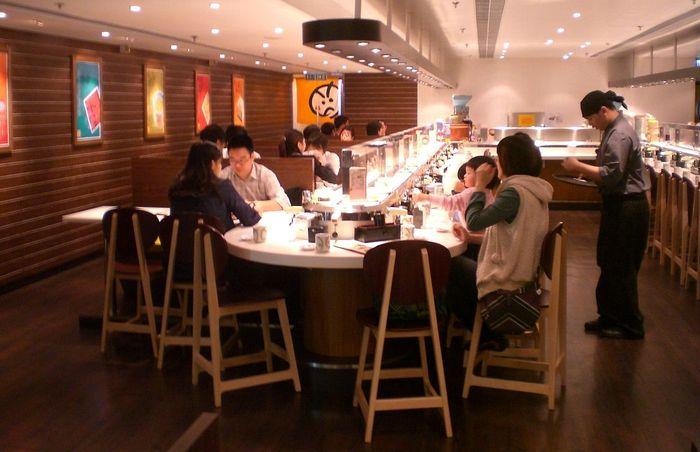 Конвейерные суши-рестораны
