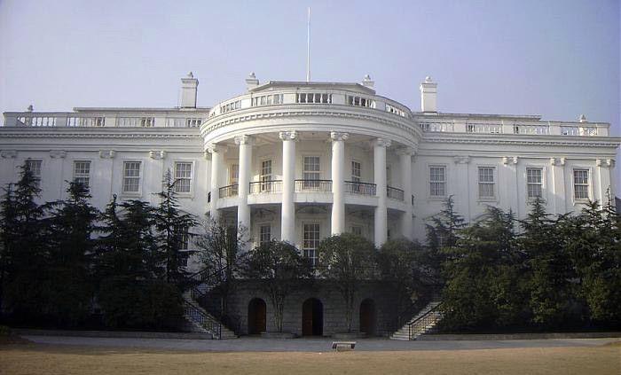 Копия американского Белого дома в городе Ханчжоу
