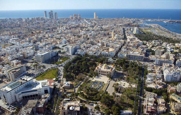Бывший королевский дворец в Триполи