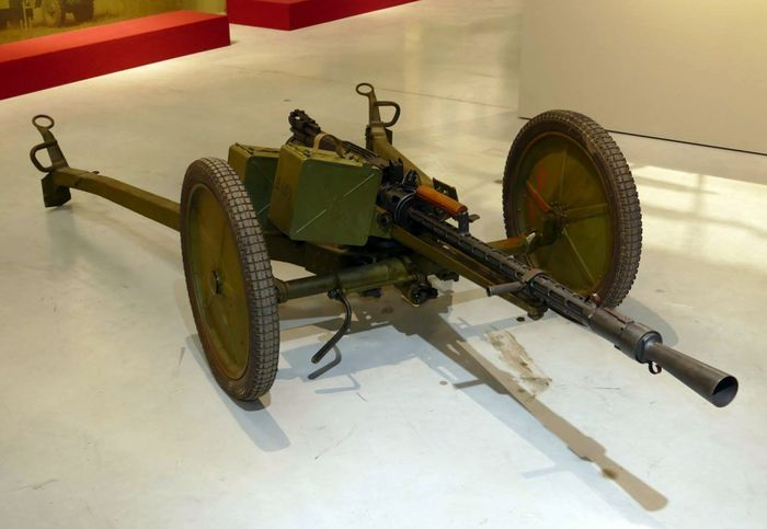 Крупнокалиберный пулемет КПВ 14,5 мм