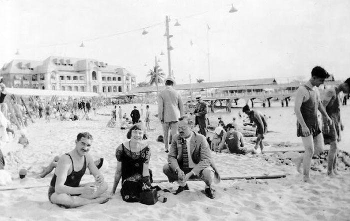 Кубинский пляж, 1940е
