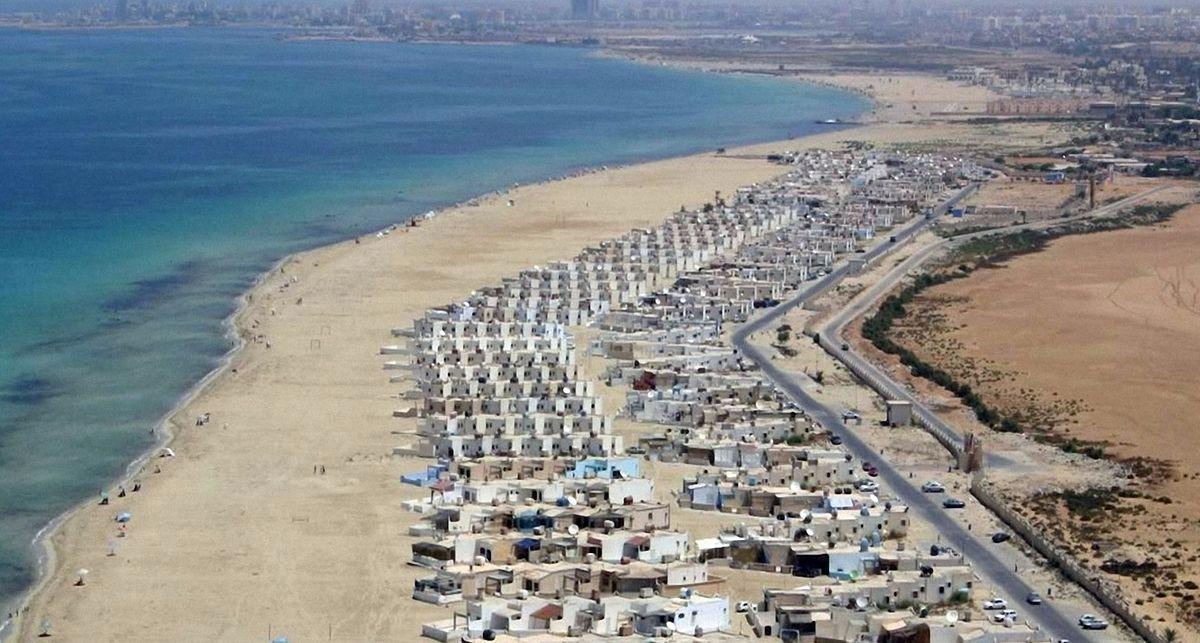 Ливийские пляжи до войны