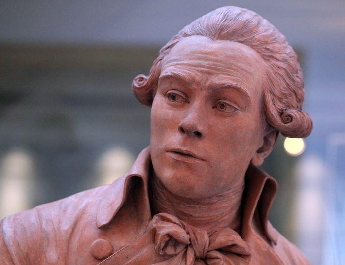 Французский революционер Максимилиан Робеспьер