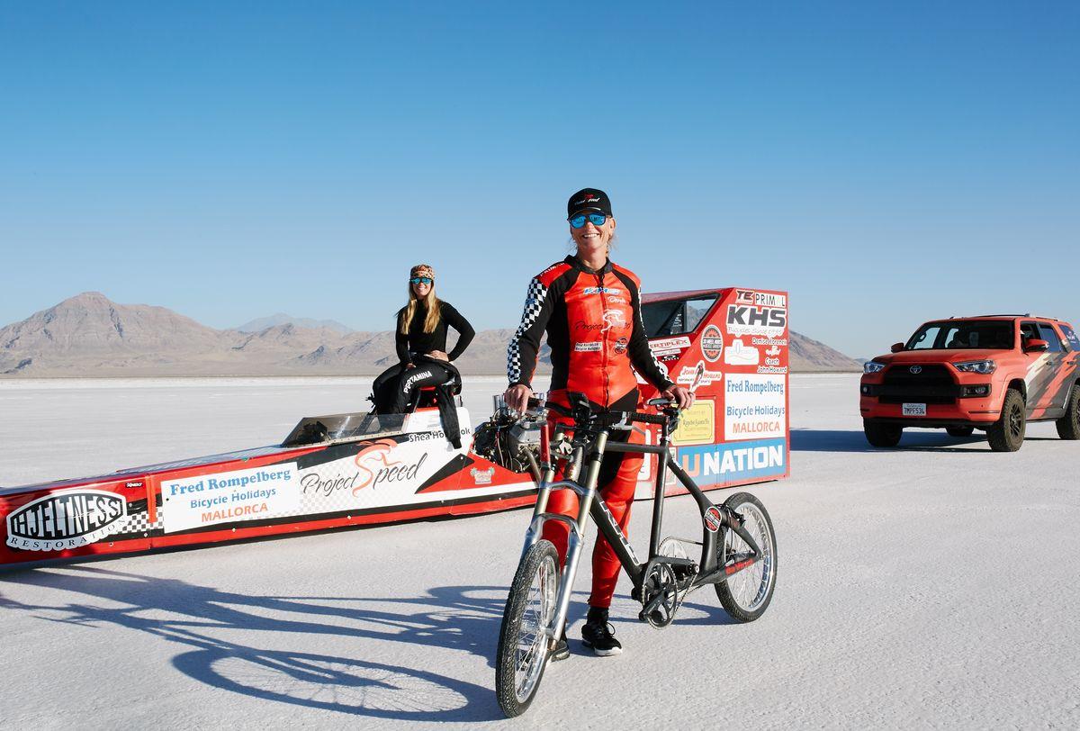 Мировой рекорд скорости езды на велосипеде