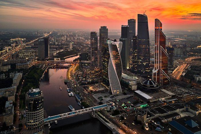 Москва - столица самой большой страны в мире