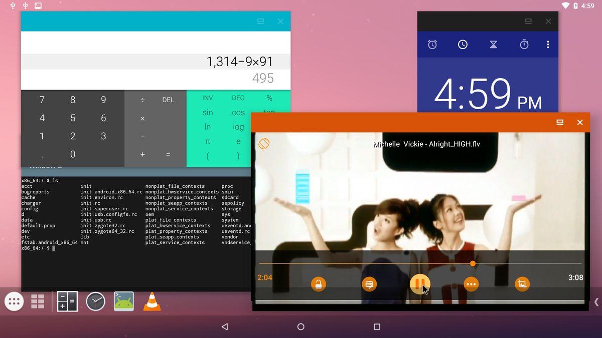 Мультиоконный режим в Android на ПК