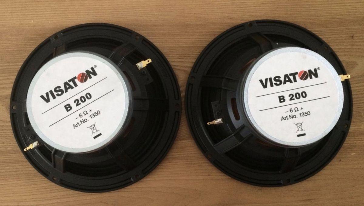 Немецкие широкополосные динамики Visaton B200 для домашних колонок