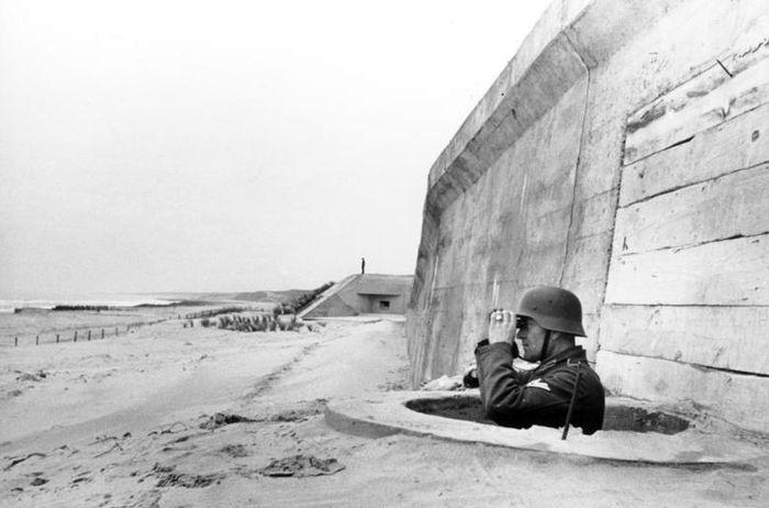 Немецкие укрепления Атлантического вала во Франции