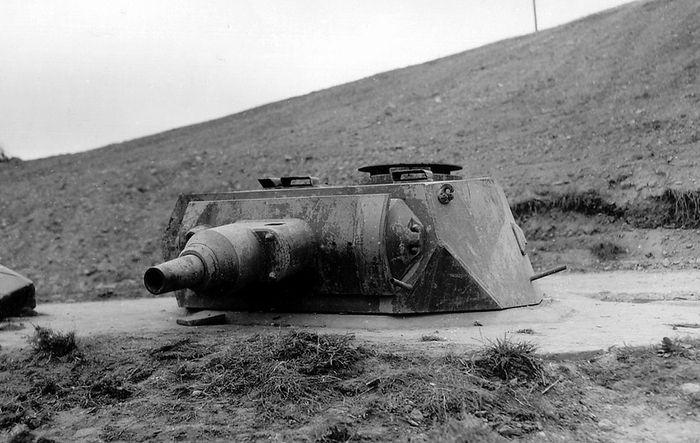 Немецкие укрепления на берегах Нормандии