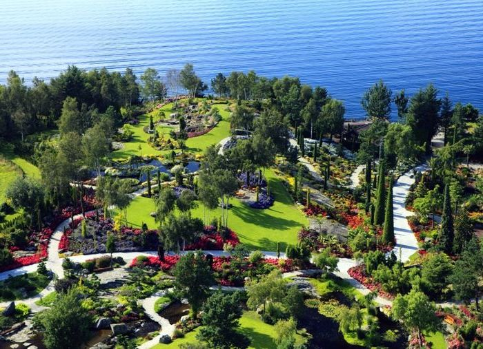 Норвежский сад экзотических растений в Ставангере