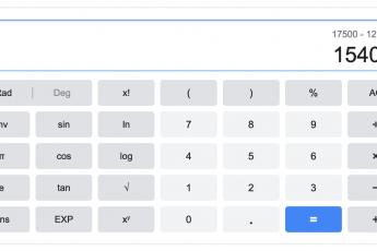 Онлайн калькулятор процентов - как посчитать процент от суммы?
