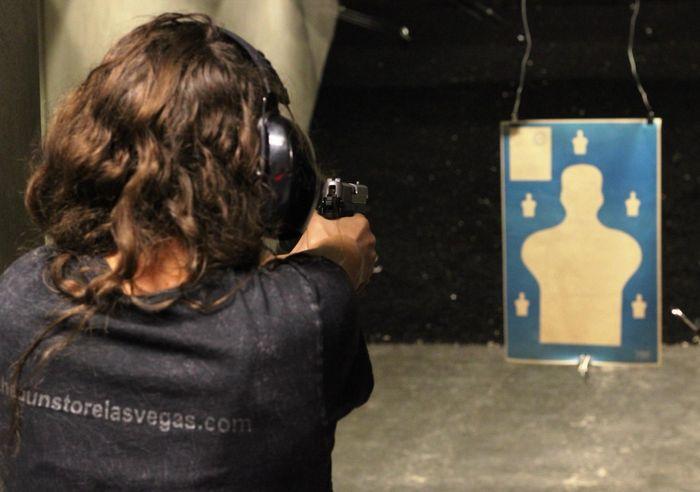 Стрелковый тир в Лас-Вегасе