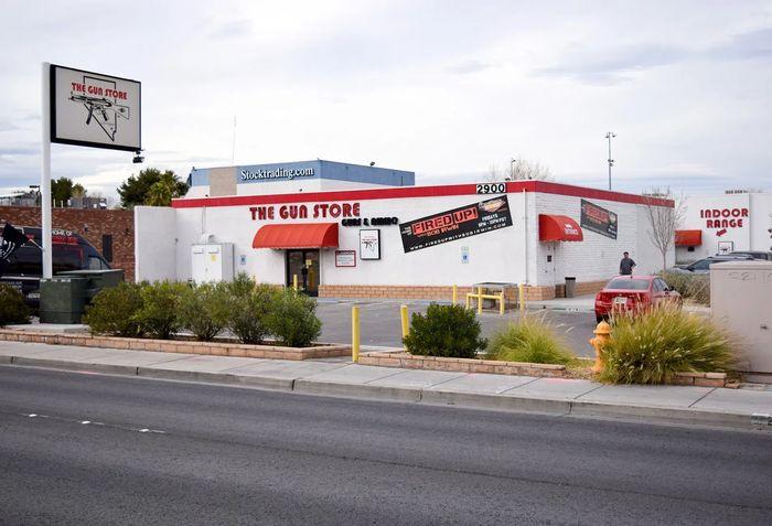 Оружейный магазин в Лас-Вегасе The Gun Store
