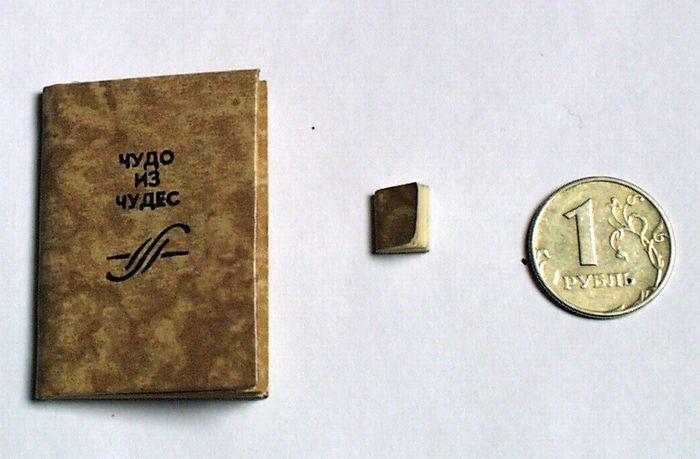Первая советская микрокнига Чудо из чудес