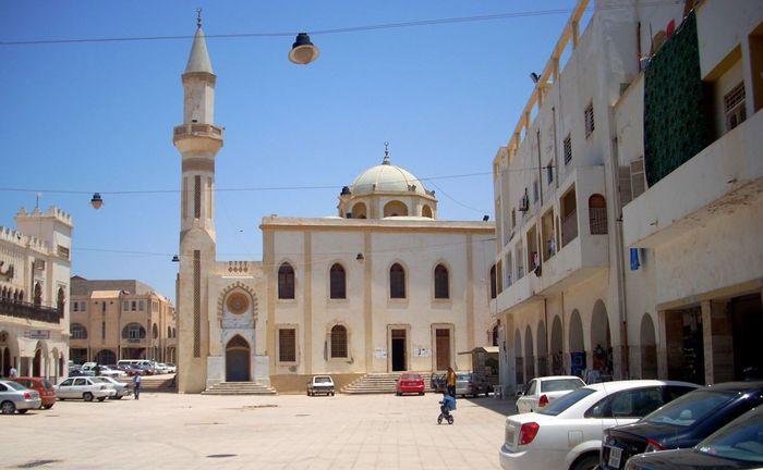 Площадь Баладия в Бенгази до войны