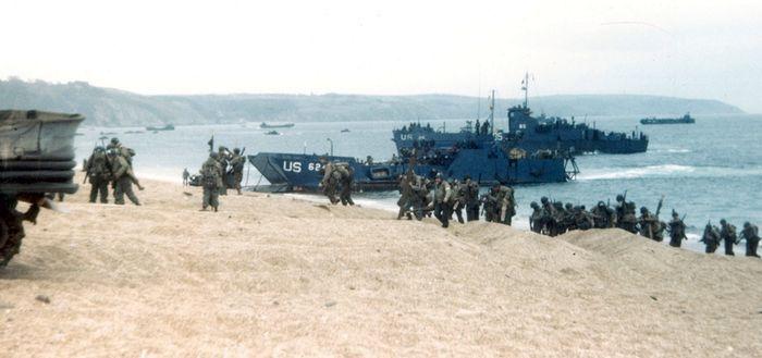 Репетиция высадки союзников в Нормандии