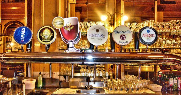 Лучшее бельгийское пиво в ресторане A La Mort Subite