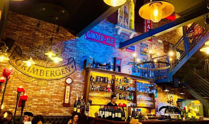 Лучшее пиво Бельгии в ресторане Le Bistro на Boulevard de Waterloo 138