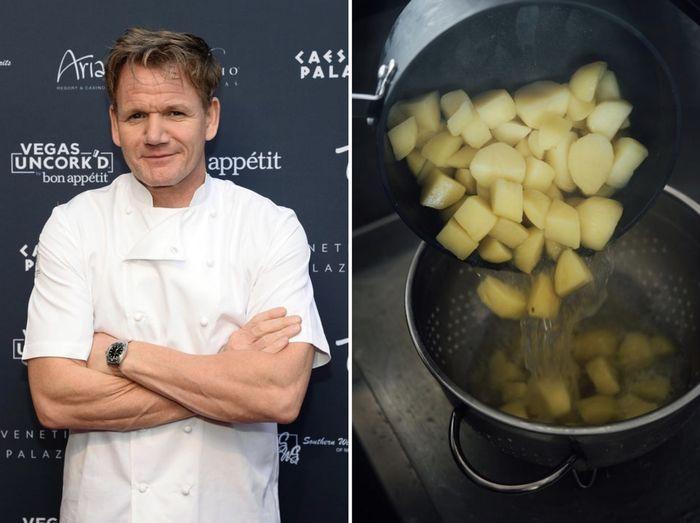 Рецепт картофельного пюре от Гордона Рамзи
