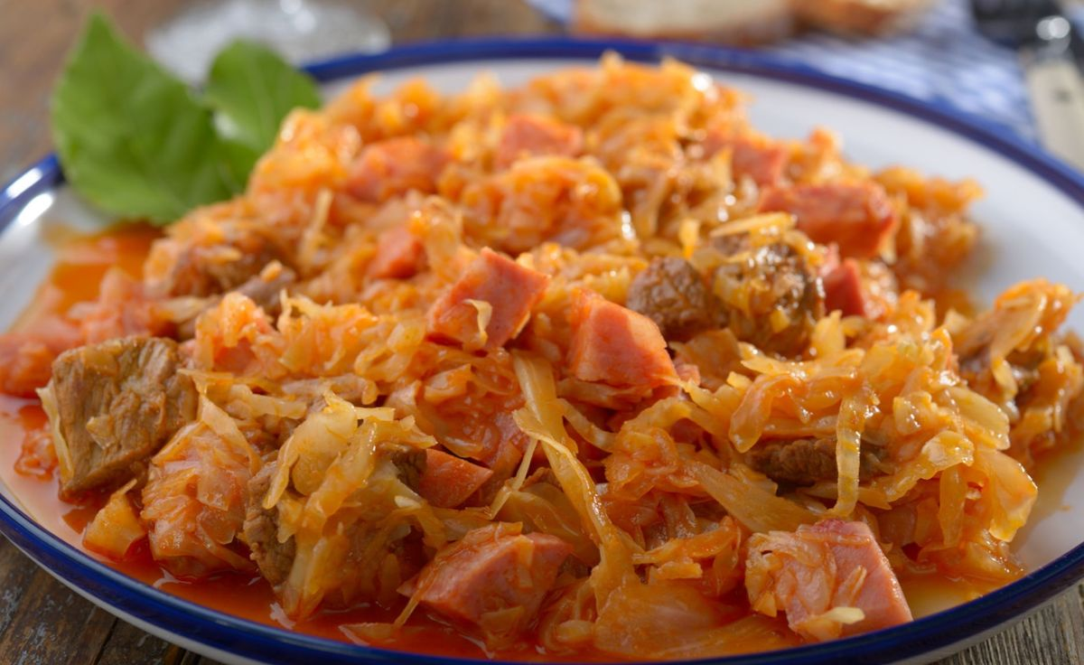 Рецепты тушеной капусты