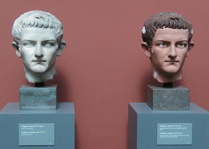 Мраморный бюст Калигулы