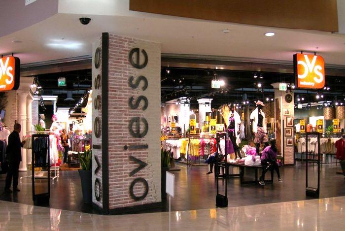 Сеть магазинов Oviesse в Риме
