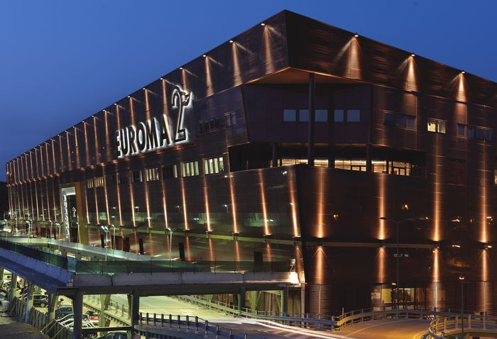 Шоппинг-молл Euroma2 в Риме