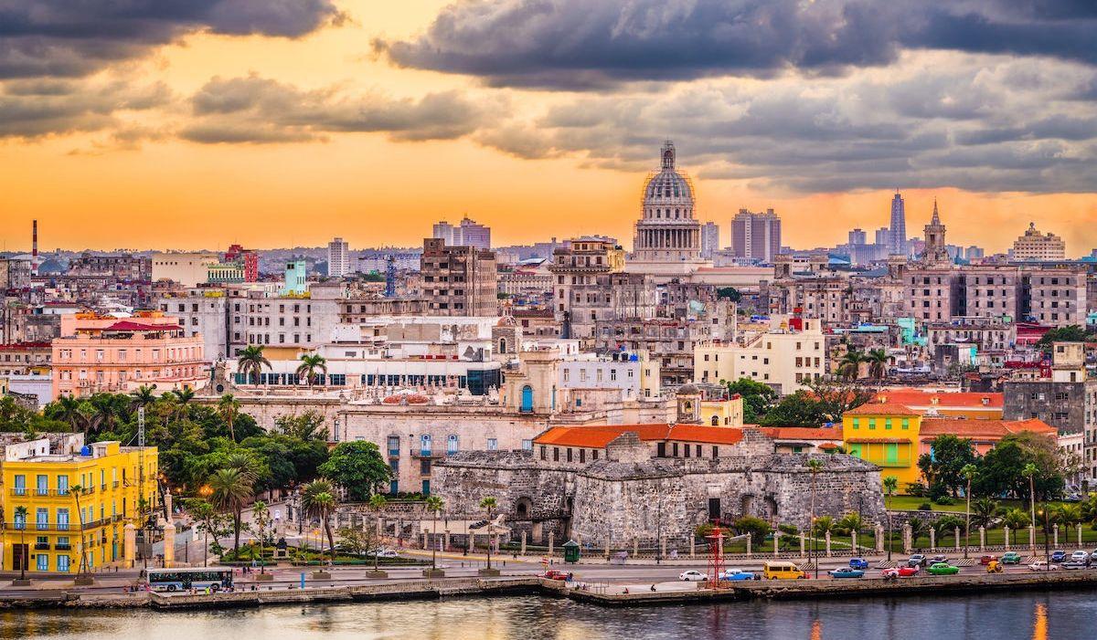 Современная панорама Гаваны